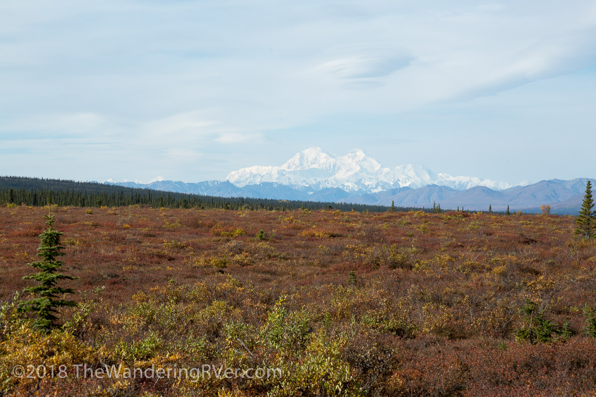 The Denali Hwy and an Abandon Igloo